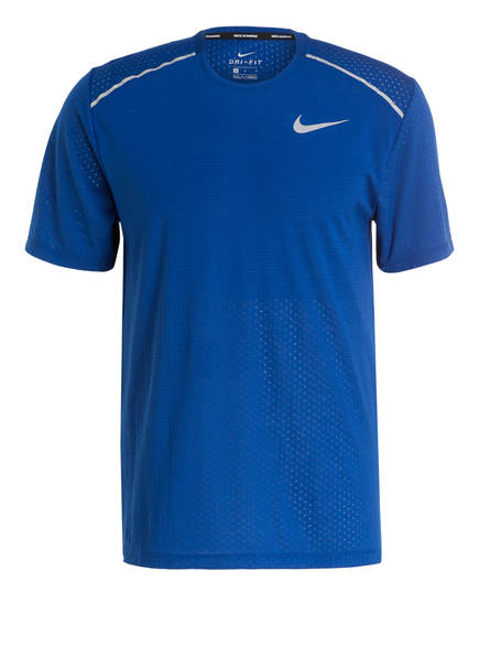 Nike Laufshirt RISE 365, Farbe: BLAU (Bild 1)