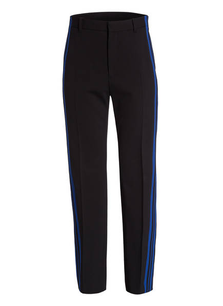 BALENCIAGA Hose im Joggingstil, Farbe: SCHWARZ/ BLAU (Bild 1)