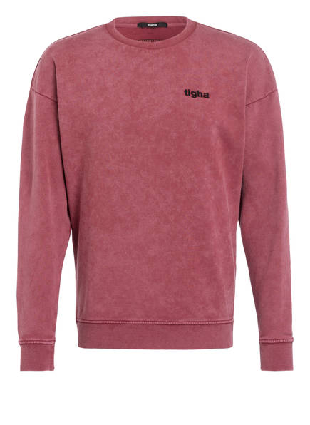 tigha Sweatshirt, Farbe: DUNKELROT (Bild 1)
