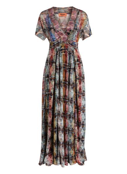 MISSONI Kleid, Farbe: ROT/ GOLD/ HELLBLAU (Bild 1)