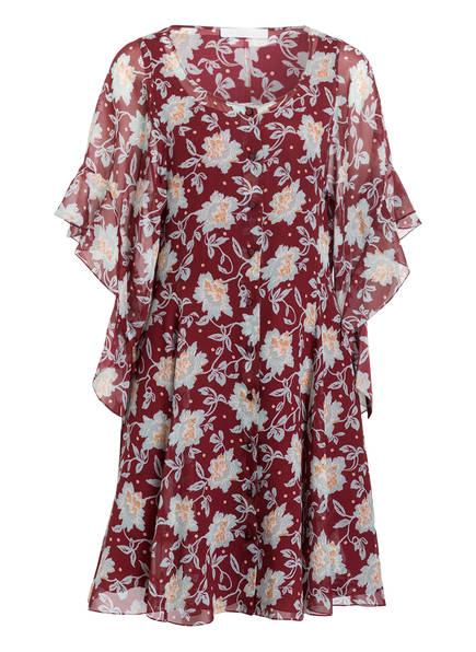 Chloé Seidenkleid, Farbe: DUNKELROT (Bild 1)