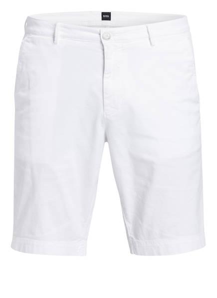 BOSS Chino-Shorts Slim Fit, Farbe: WEISS (Bild 1)
