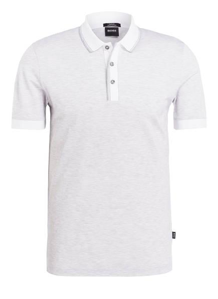 BOSS Poloshirt PHILLIPSON Slim Fit, Farbe: HELLGRAU (Bild 1)