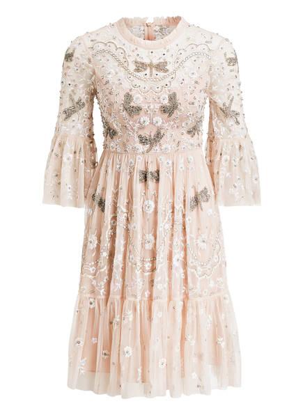needle & thread Kleid DRAGONFLY GARDEN, Farbe: ROSÉ/ WEISS (Bild 1)