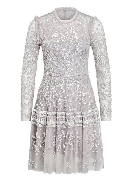 needle & thread Kleid AURORA, Farbe: TAUPE (Bild 1)