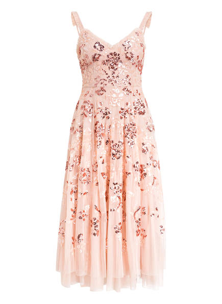 needle & thread Paillettenkleid VALENTINA, Farbe: ROSÉ (Bild 1)
