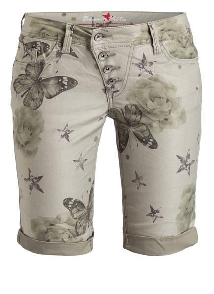 Buena Vista Jeans-Shorts MALIBU, Farbe: GRÜN (Bild 1)