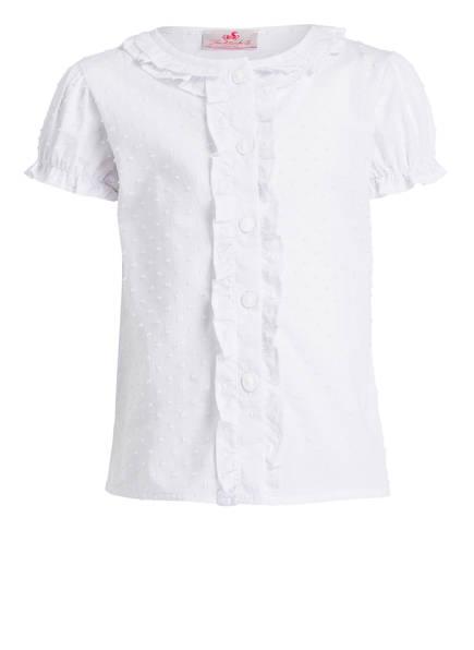 Trachtenkind Blusenshirt, Farbe: WEISS (Bild 1)
