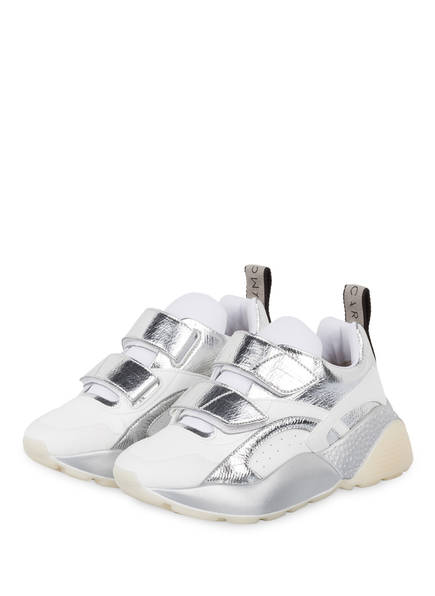 STELLA McCARTNEY Plateau-Sneaker ECLYPSE, Farbe: WEISS/ SILBER (Bild 1)