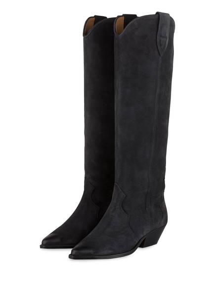 ISABEL MARANT Cowboy Boots DENVEE, Farbe: DUNKELGRAU (Bild 1)