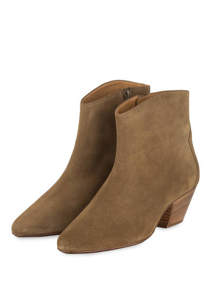 ISABEL MARANT Cowboy Boots DACKEN  , Farbe: TAUPE (Bild 1)
