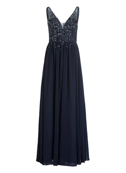 VISOUS Abendkleid , Farbe: DUNKELBLAU (Bild 1)