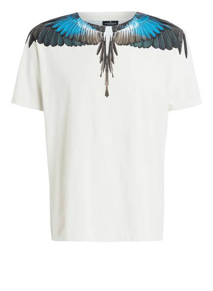 MARCELO BURLON T-Shirt, Farbe: ECRU/ BRAUN/ DUNKELGRÜN (Bild 1)