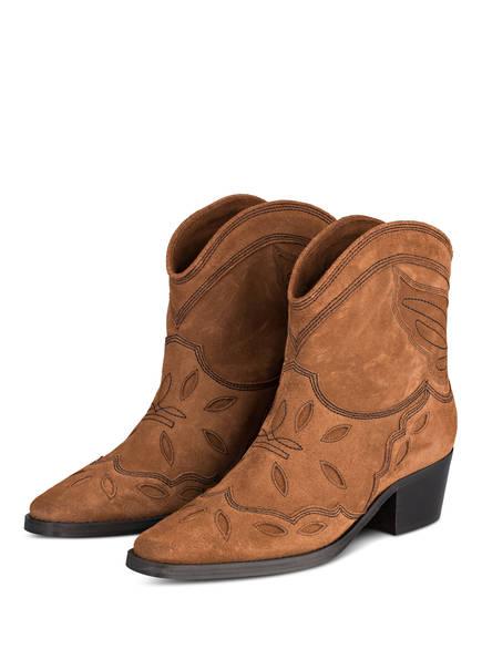 GANNI Cowboy Boots TEXAS, Farbe: BRAUN (Bild 1)