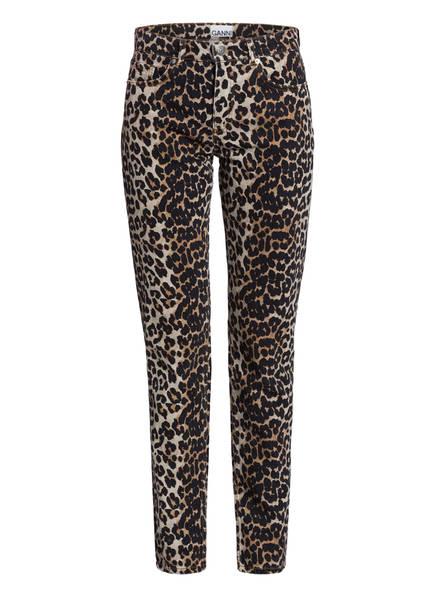 GANNI Jeans , Farbe: 943 LEOPARD (Bild 1)