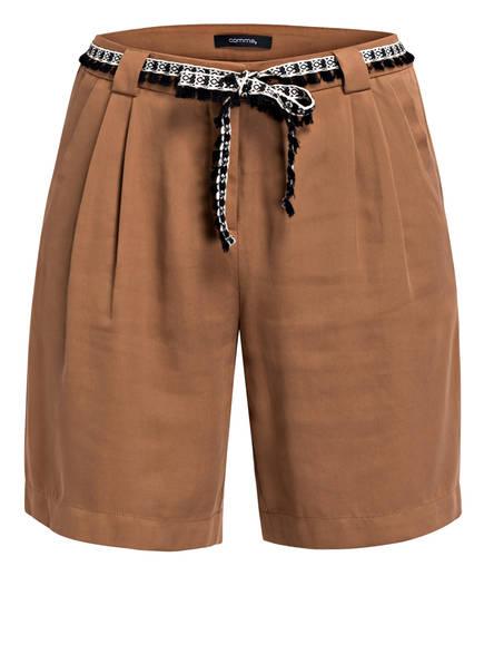 comma Shorts, Farbe: BRAUN (Bild 1)