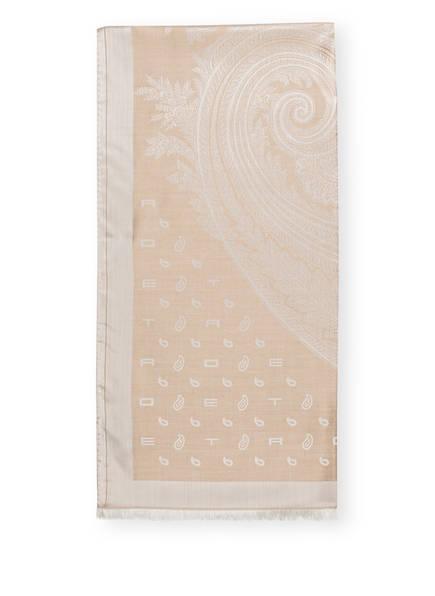 ETRO Schal mit Seidenanteil, Farbe: BEIGE (Bild 1)