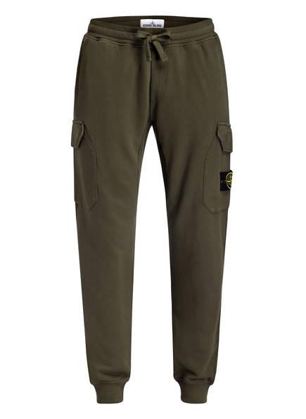 STONE ISLAND Sweatpants, Farbe: OLIV (Bild 1)