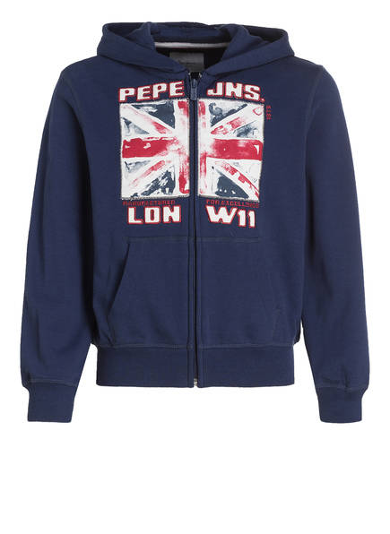 Pepe Jeans Sweatjacke, Farbe: DUNKELBLAU (Bild 1)