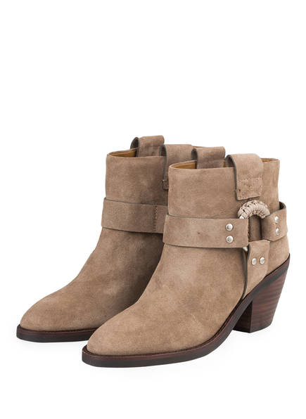 SEE BY CHLOÉ Boots CROSTA, Farbe: TAUPE (Bild 1)
