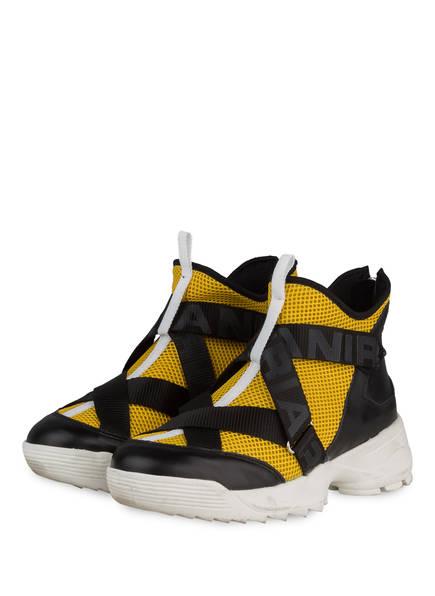 RIANI Hightop-Sneaker, Farbe: SCHWARZ/ DUNKELGELB (Bild 1)