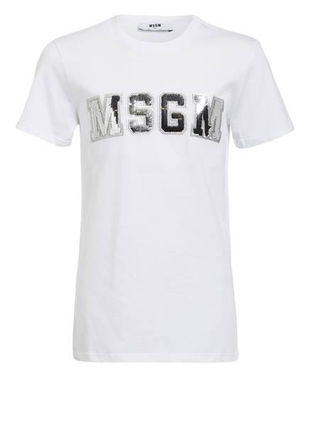 MSGM KIDS T-Shirt, Farbe: WEISS (Bild 1)