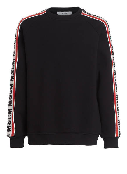 MSGM KIDS Sweatshirt , Farbe: SCHWARZ (Bild 1)