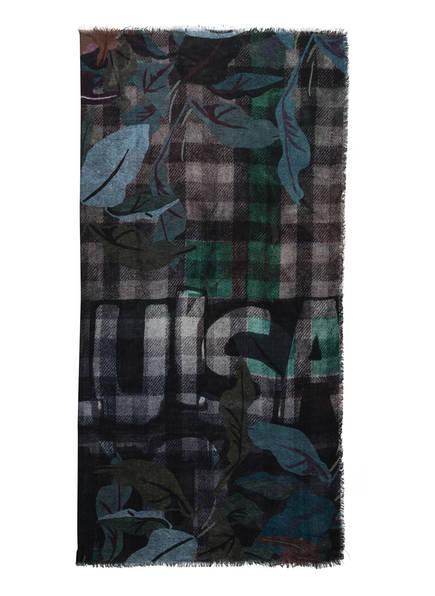 LUISA CERANO Tuch, Farbe: GRAU/ SCHWARZ/ OLIV (Bild 1)