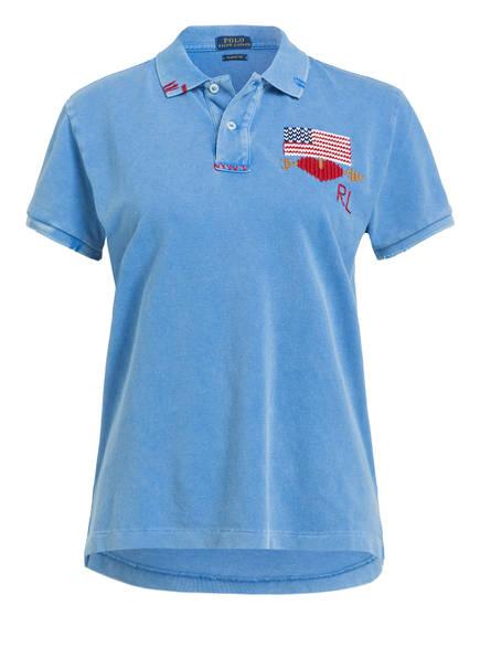 POLO RALPH LAUREN Poloshirt , Farbe: BLAU (Bild 1)