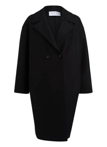 HARRIS WHARF LONDON Mantel, Farbe: SCHWARZ (Bild 1)