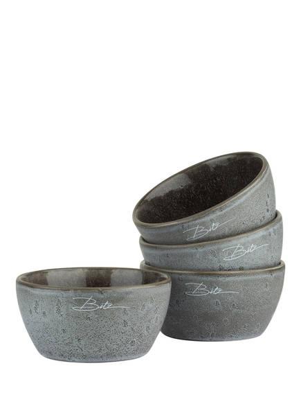 Bitz 4er-Set Suppenschüsseln, Farbe: DUNKELGRAU (Bild 1)