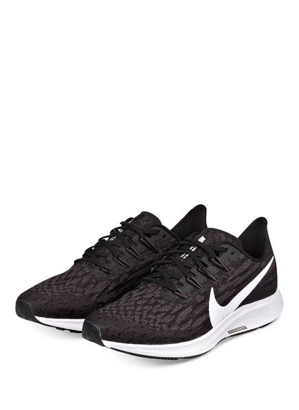 Nike Laufschuhe AIR ZOOM PEGASUS 36, Farbe: SCHWARZ/ DUNKELGRAU (Bild 1)