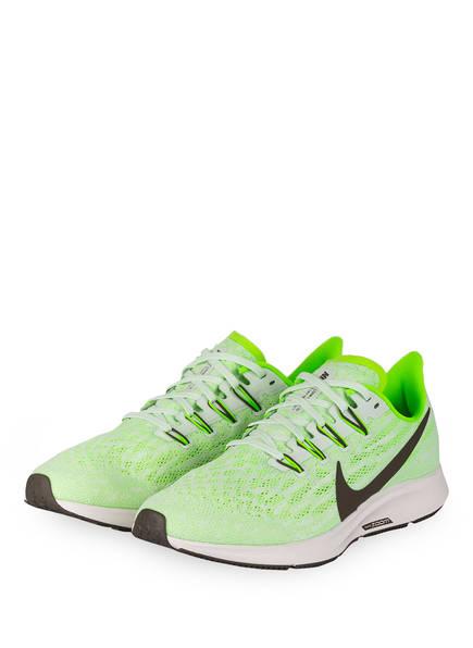 Nike Laufschuhe AIR ZOOM PEGASUS 36, Farbe: NEONGRÜN/ CREME (Bild 1)