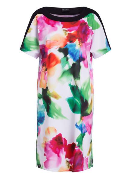 Charmline Strandkleid AQUARELL FLOW, Farbe: SCHWARZ/ WEISS/ PINK (Bild 1)