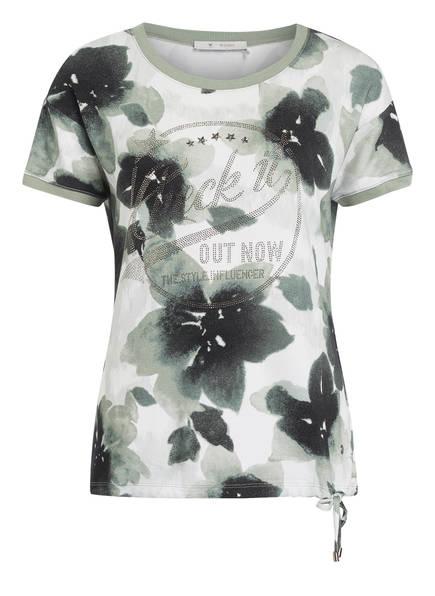 monari T-Shirt, Farbe: KHAKI/ WEISS (Bild 1)