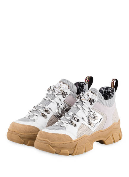 MÉLINÉ Hightop-Sneaker ALMA GALAXY, Farbe: WEISS/ HELLGRAU/ CREME (Bild 1)