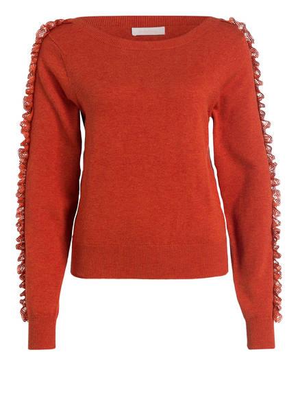 SEE BY CHLOÉ Pullover , Farbe: ORANGE (Bild 1)
