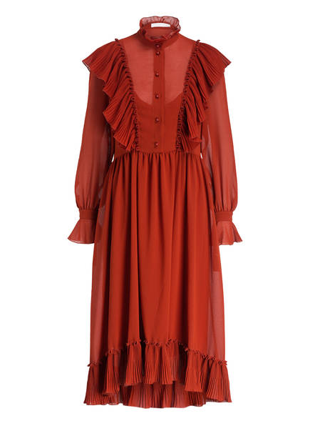SEE BY CHLOÉ Kleid, Farbe: ROT (Bild 1)