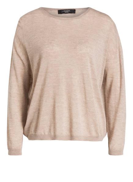 WEEKEND MaxMara Pullover aus Schurwolle, Farbe: BEIGE (Bild 1)