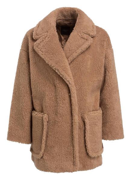 WEEKEND MaxMara Oversized-Teddyfell-Jacke , Farbe: CAMEL (Bild 1)