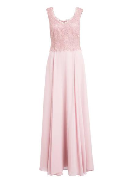 Vera Mont Abendkleid mit Glitzersteinbesatz, Farbe: ROSÉ  (Bild 1)