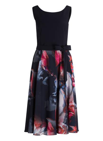 Vera Mont Kleid, Farbe: DUNKELBLAU GEMUSTERT (Bild 1)