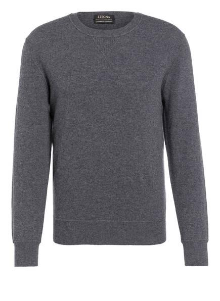 ZZegna Cashmere-Sweatshirt, Farbe: GRAU (Bild 1)