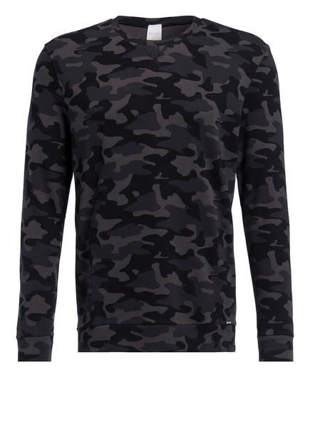 Skiny Lounge-Sweatshirt, Farbe: KHAKI GEMUSTERT (Bild 1)