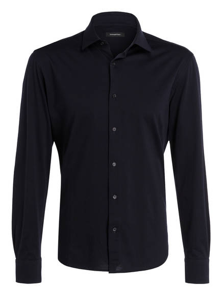Ermenegildo Zegna Jersey-Hemd Regular Fit , Farbe: NAVY (Bild 1)