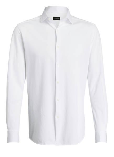 Ermenegildo Zegna Piqué-Hemd Regular Fit , Farbe: WEISS (Bild 1)