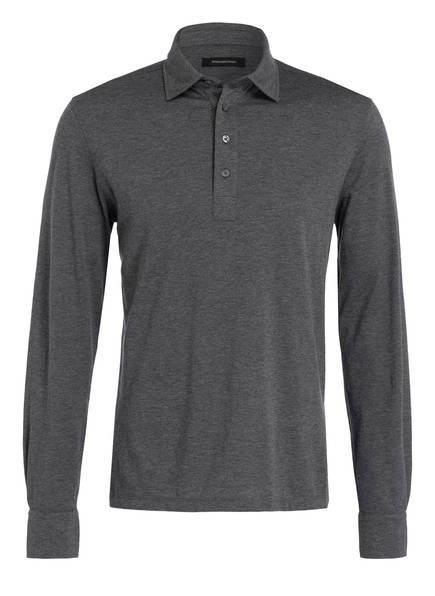Ermenegildo Zegna Jersey-Poloshirt, Farbe: HELLGRAU (Bild 1)