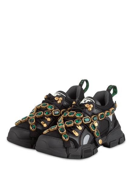 GUCCI Sneaker FLASHTREK, Farbe: SCHWARZ (Bild 1)