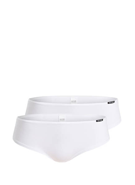 Skiny 2er-Pack Panties ADVANTAGE COTTON, Farbe: WEISS (Bild 1)