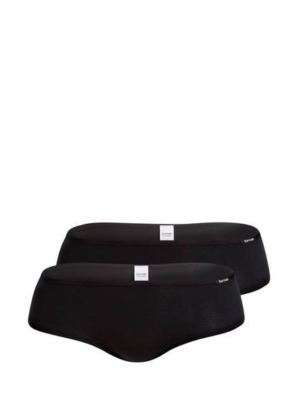 Skiny 2er-Pack Panties ADVANTAGE COTTON, Farbe: SCHWARZ (Bild 1)